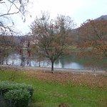 La vue sur la Meuse...