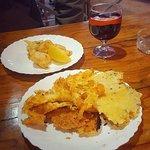 Sangria and food!