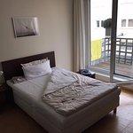 Single Basic room with balcony.