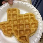 Texas sized waffles