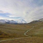 Der Denali, vormals Mt. Mc Kinley, höchster Berg Nordamerikas.