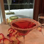 The Candy Cane Martini was delicious!