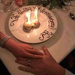 A very special anniversary surprise, and photo taken by Rudy!