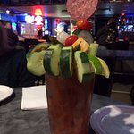 The cucumber Bloody Mary