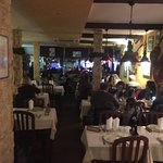 We enjoyed the mixed fish grill and the Fado music