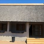 Our thatched chalet