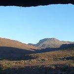 View of Karoo National Park from the verandah