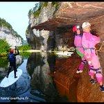 Stand up paddle et spéléologie au coeur des gorges du Tarn