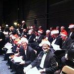 The VSO Chorus at Rutland's Paramount theater. 2016 Holiday COncert