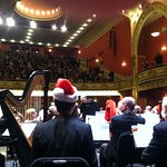 Backstage with VSO at Paramount, 2016 Holiday Concert