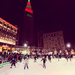 Ice Skating Rink in Public Square