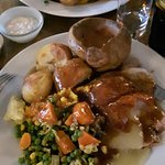 Our wonderfully tasty Sunday lunch :-)