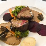 Fillet with peppercorn brandy sauce