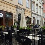 Superb Main Market Square restaurant.