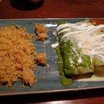 Chicken, Cheese and Beef Enchiladas