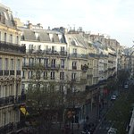 Vue from the balcony - Rue Maubeuge