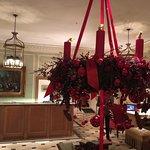 Le lobby et la déco de Noël