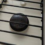 rusty kitchen equipment
