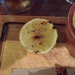 grilled lemon.