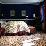 Königsblaues Zimmer im Ashley's Garden