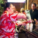We serve premium tropical drinks! Plus a full bar!
