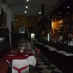 Inside Cafe Lamparilla