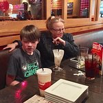 NOV 2016. My wife and I went to Red Robin with our son, his kids, and his mother in law.