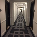 Hallway to your room