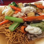 Combination Fried Egg Noodle