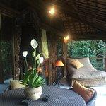 Our villa balcony