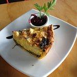 Blue cheese and cauliflower pie