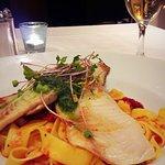 Foto di olive and fish