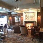 Un lobby cosy et chaleureux