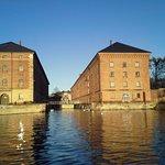 The Norwegian Naval Museum. Horten.View from the sea
