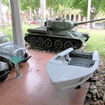 Military relics from the revolution - Granma Memorial (29/Mar/16).