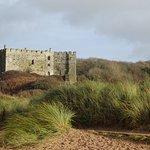 Manorbier Castle Foto