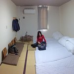 our tatami room for four