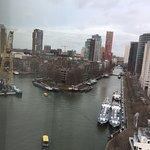 Uitzicht op de Leuvenhaven