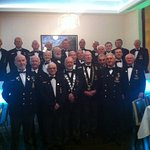 part of the 104 who enjoyed our Gala Dinner at the Fitzwilton