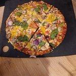 Ultimate thin Veggie Pizza