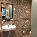 This is the other bathroom with a shower.