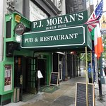 Entrance to PJ Morans