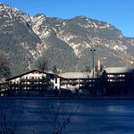 Beautiful morning at the Riessersee Hotel