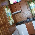 Vista de la zona de la cocina