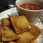 Toasted ravioli - one of my favorites!