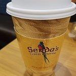 hot tea at Serda's in Daphne