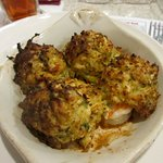Stuffed Mushrooms and Stuffed Shrimps with Crab Meat