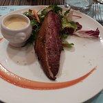 demi-magret sauce au foie gras... un délice !