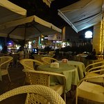 comfortable chairs on the terrace