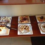 Variedad de tortas y masas...